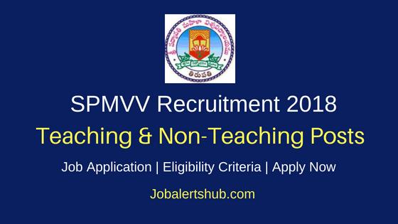 Sri Padmavati Mahila Visvavidyalayam (SPMVV) Tirupati Recruitment 2018 Teaching Professor, Associate, Asst Professor, Clinical Instructor/ Lecturer & Other Posts   Diploma, Degree (Engg), PG   Apply Now