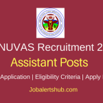 Tamil Nadu Veterinary and Animal Sciences University 2018 Farm Manager, Project Administrator, Project Asst& Computer Asst Posts – 06 Vacancies | Degree, Master's Degree, B. V. Sc or M. V. Sc | Apply Now