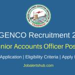 TSGENCO 2018 Junior Accounts Officer or JAO Posts – 42 Vacancies | B.Com, M.Com & CA | Apply Now