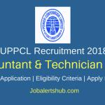 UPPCL 2018 Accountant, Technician Posts – 2842 Vacancies | Certification | Apply Now