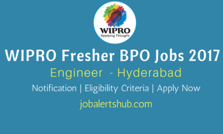 Wipro 2017 Recruitment Freshers | Engineer | Hyderabad | Apply Online