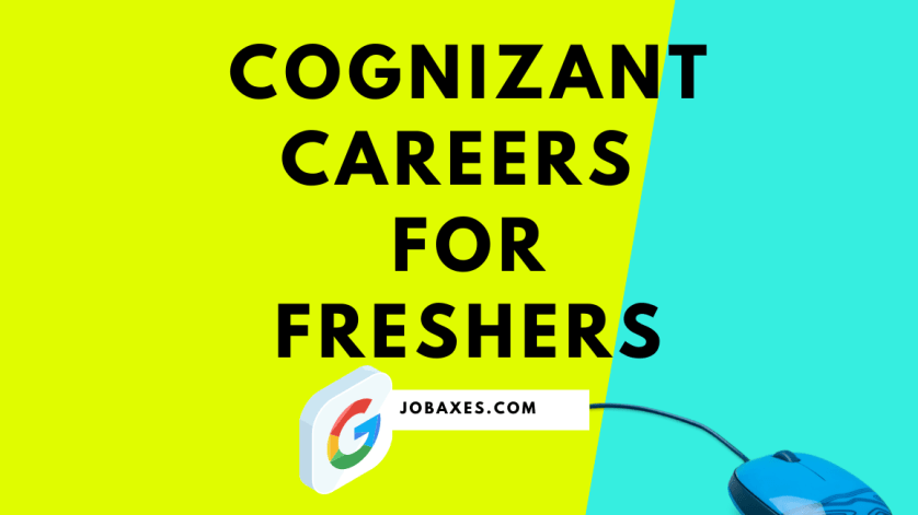 cognizant careers for freshers