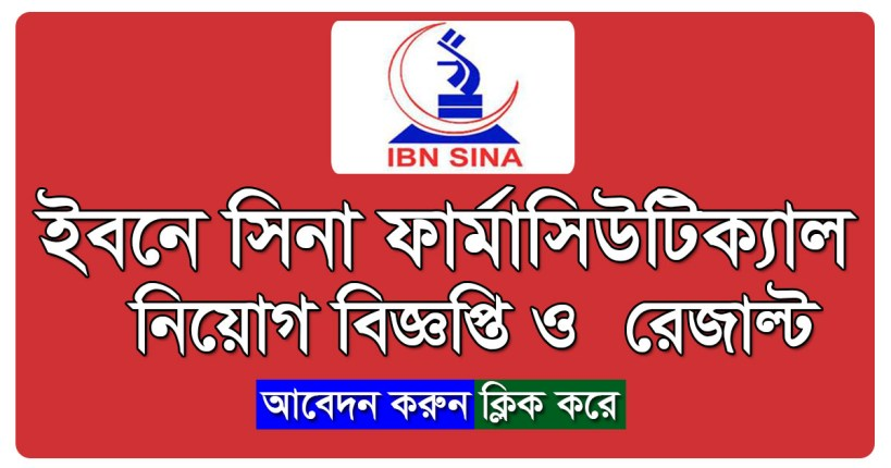 The Ibn Sina Pharmaceutical Ind Ltd. Job Circular on August 2017