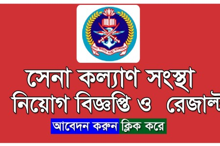 Sena Kalyan Sangstha Job Circular 2021 Application Form
