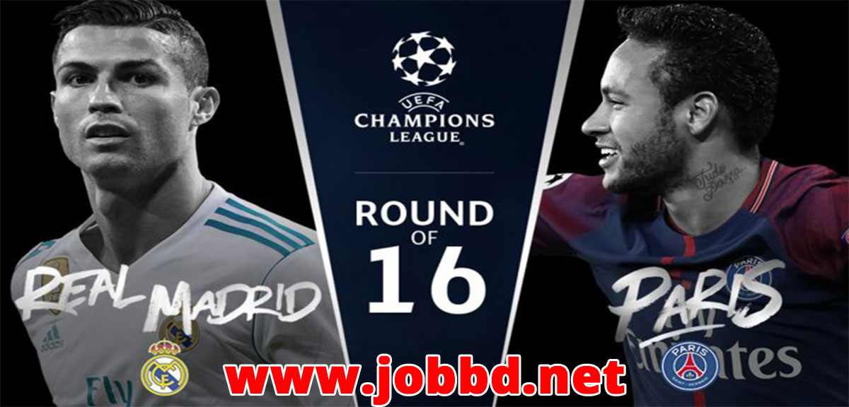 Real Madrid vs PSG Live Streaming & Kick off Time UEFA Champion League 2nd Leg.