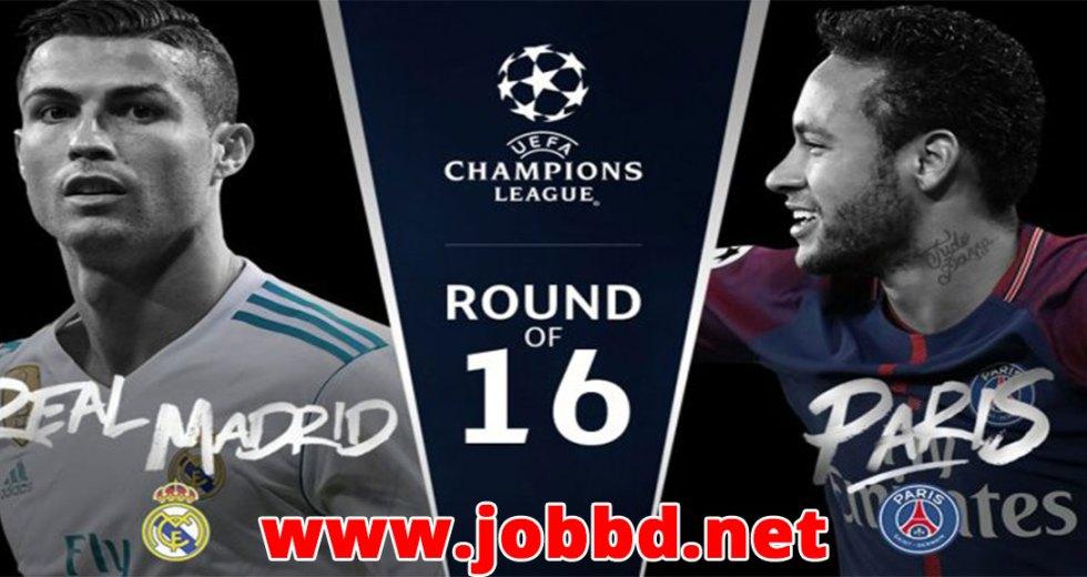 Real Madrid vs PSG Live Streaming & Kick off Time UEFA Champion League 2nd Leg.