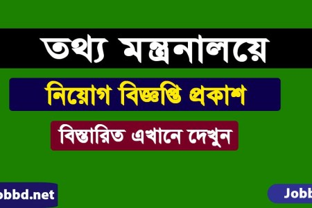 Ministry of Information MOI Job Circular 2021 -moi.gov.bd