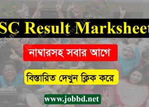 JSC Marksheet 2018 Education Board JSC result – eboardresults.com