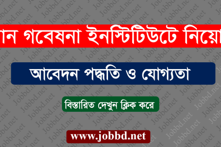 Bangladesh Rice Research Institute BRRI Job Circular 2020 -brri.gov.bd
