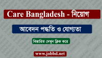 Care Bangladesh Job Circular 2019 – carebangladesh.org