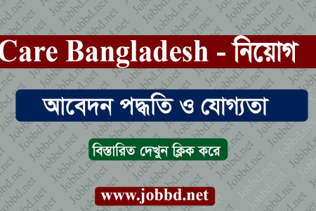 Care Bangladesh Job Circular 2020 – carebangladesh.org