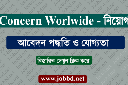 Concern Worldwide Job Circular 2021 – www.concern.net