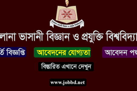 MBSTU Admission Circular 2019-20 Apply Process & admission result – mbstu.ac.bd