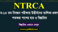 NTRCA Merit List 2018  1 to 13th NTRCA Final Merit List 2018 – ngi.teletalk.com.bd