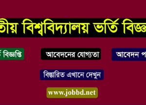 National University Honours Admission Circular 2018-19-www.nu.edu.bd