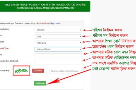 JSC Result 2019 Bangladesh All Education Board Results -Jobbd.net