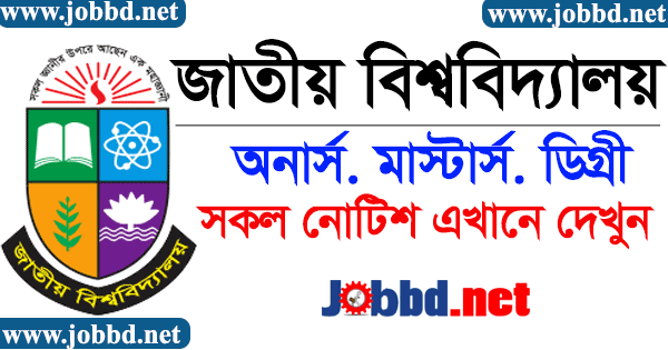 National University Notice Board 2020 – www.nu.ac.bd