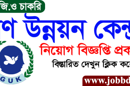 Gana Unnayan Kendra Job Circular 2020 GUK Job Application Form
