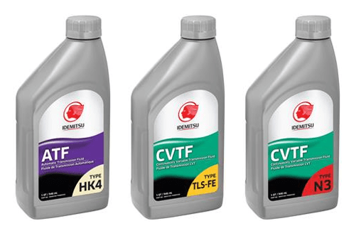 Idemitsu Lubricants America Introduces New ATF and CVTF