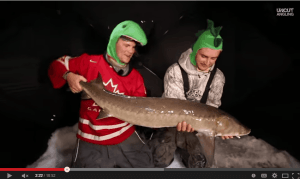 Sturgeon Ice Fishing Slugfest