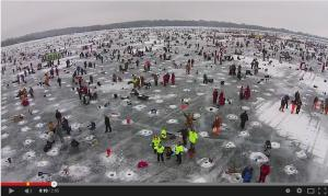 ice fishing Minnesota style