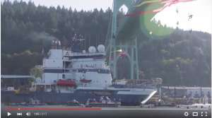 protest ship