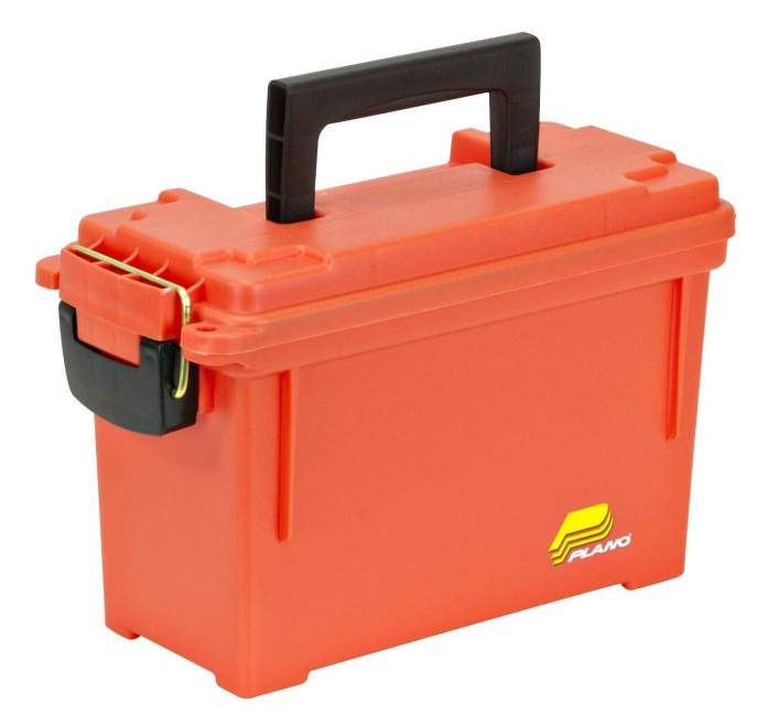 Plano 1312 Dry Storage Emergency Marine Box, Orange