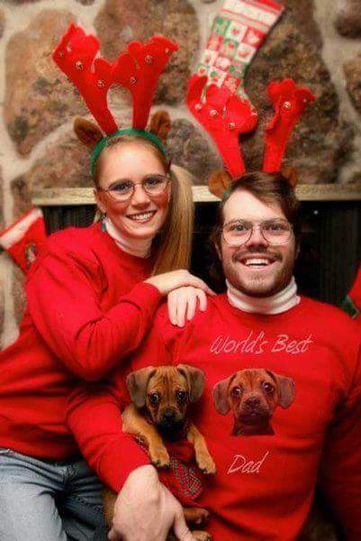Outrageous Christmas Portrait