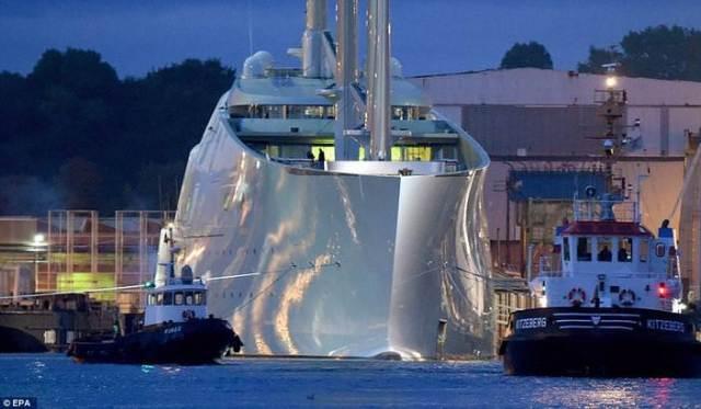 Andrey Igorevich Melnichenko's 'Sailing Yacht A,'