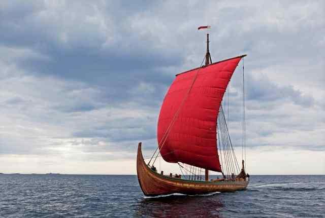Viking Ship Sets Sail for America