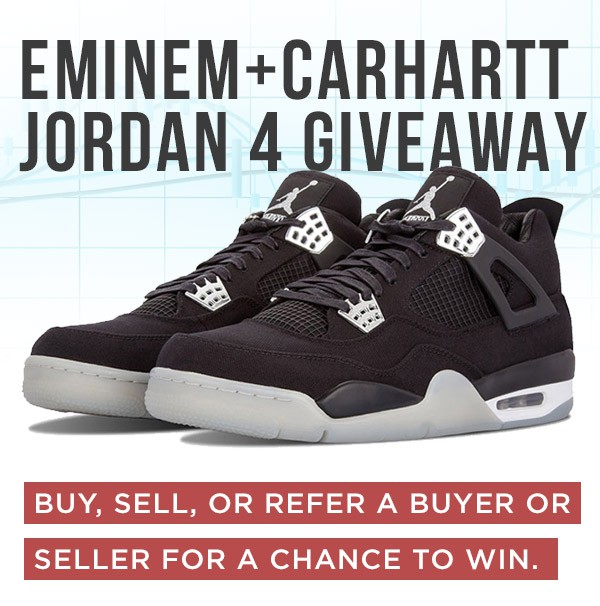 e4a5d31daa24db Win an Ultra-Rare Pair of Eminem Carhartt Jordan s from Detroit s StockX  Sneaker Exchange! (Deadline  June 23rd