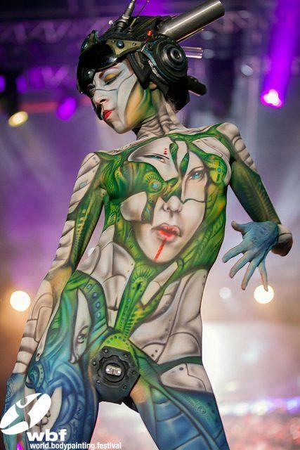 World Bodypainting festival – Seeboden, Austria