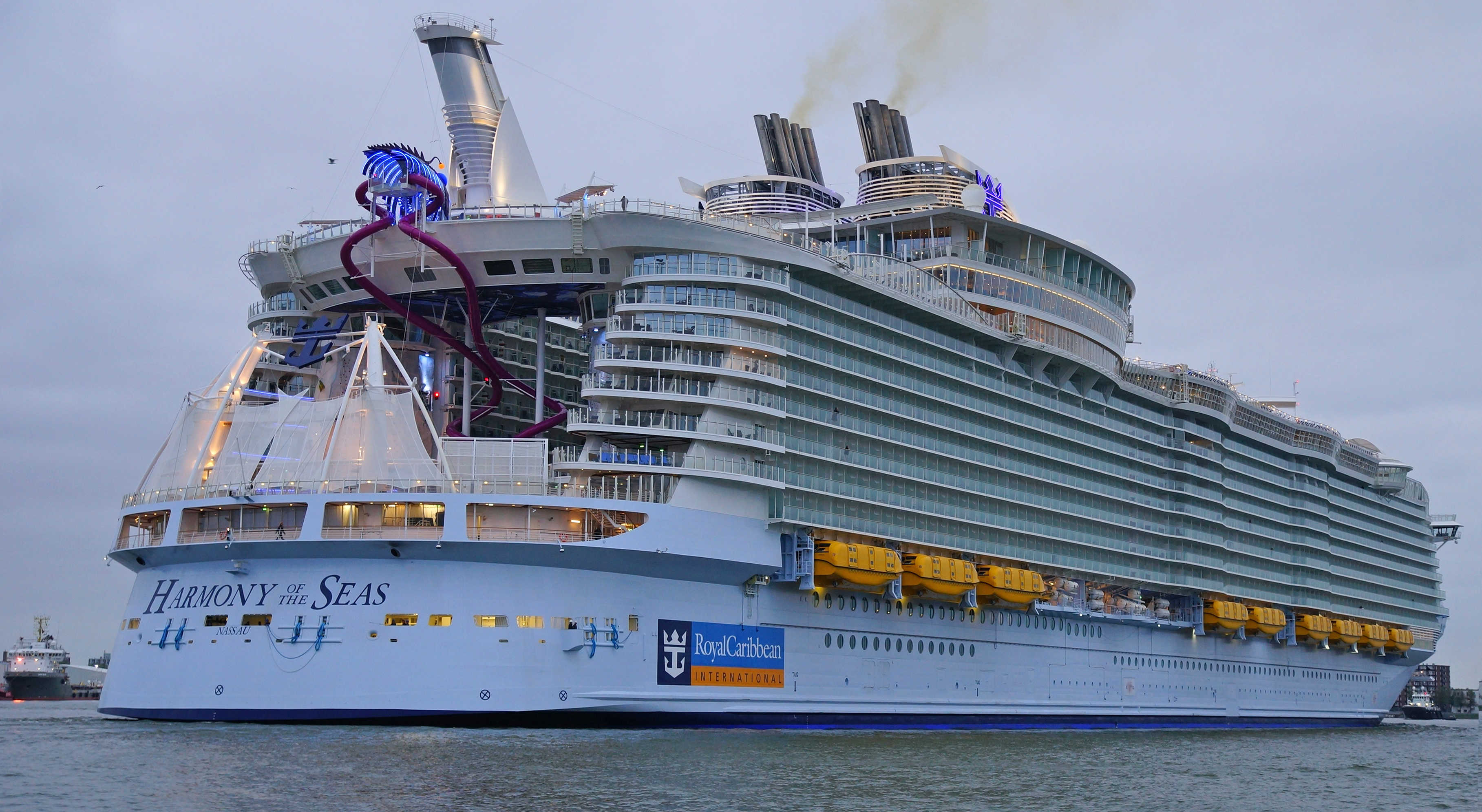 Harmony of the Seas - the largest liner in the world