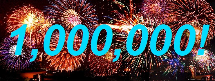 1 million visits this year