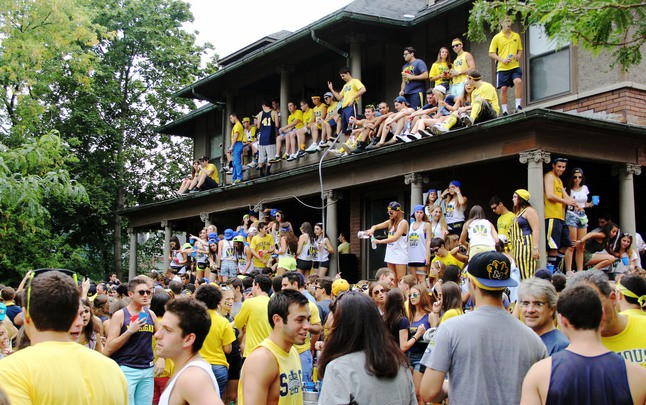 Image result for parties umich
