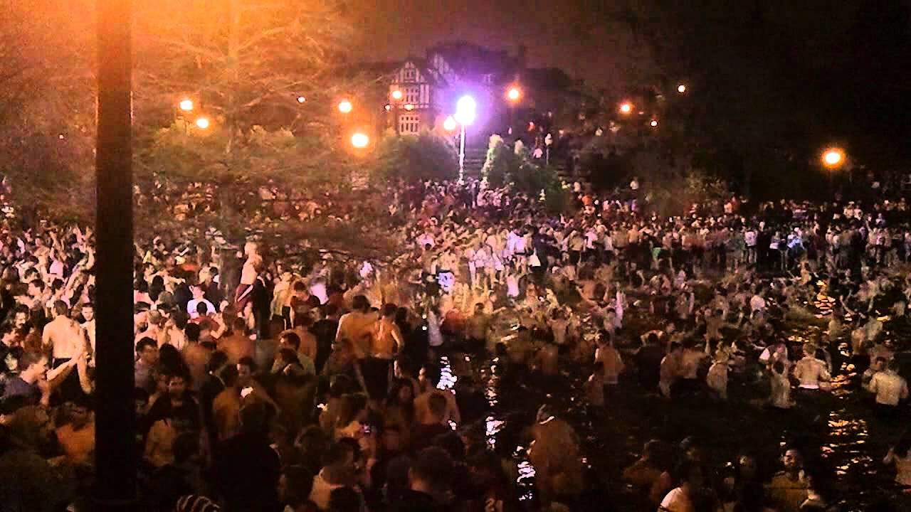 Famous Ohio State University Mirror Lake Jump Possibly Ending