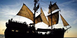 Black Magic Pirate Ship for Sale!
