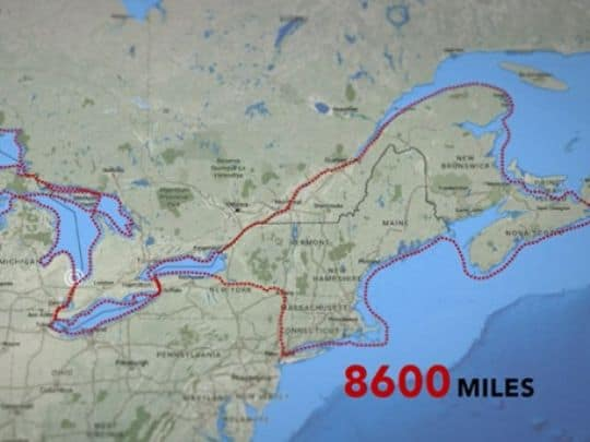8600 kayak trip