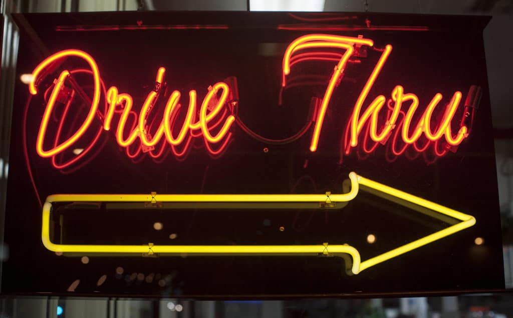 Image result for drive through funeral home