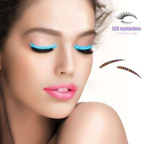Light up your night with LED eyelashes