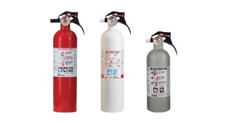 Non-Affected Fire Extinguishers