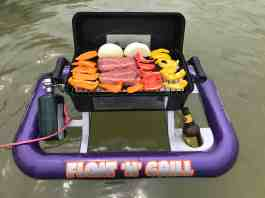 Prototype of the Float 'n' Grill