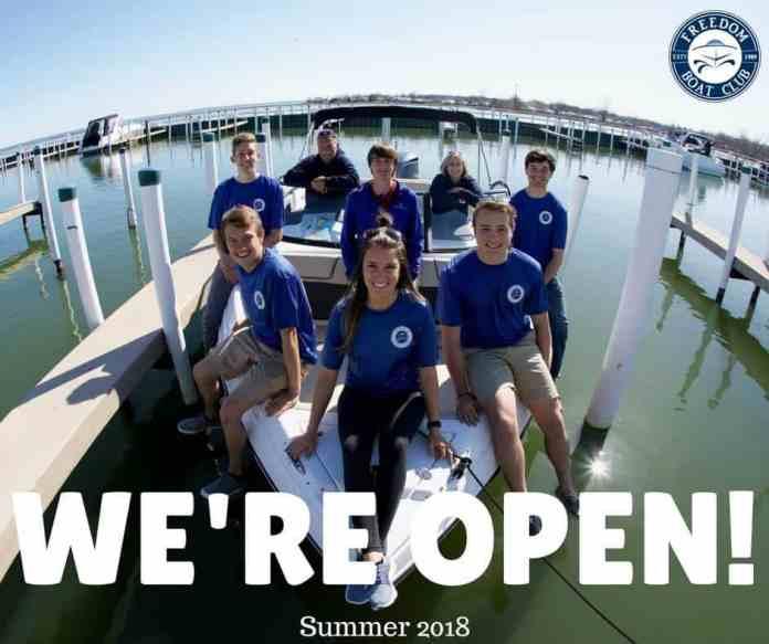 Freedom Boat Club crew kicks off the 2018 season!