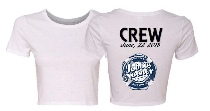 2018 Jobbie Nooner Ladies Crop Top