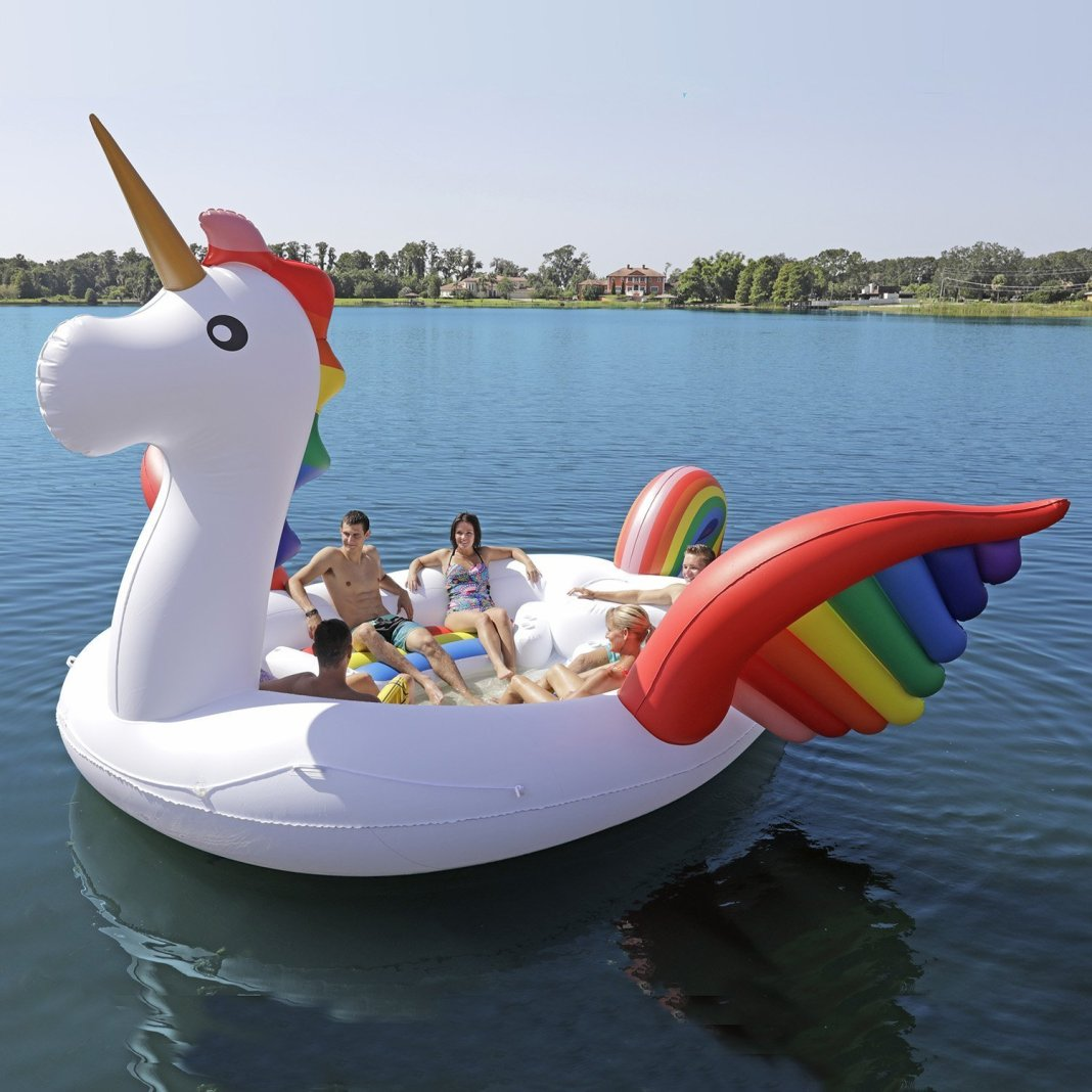 Sun Pleasure Party Bird Island Giant Unicorn Float