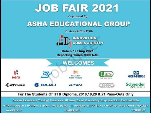 Job Fair In Asha International Institute of Marine Technology