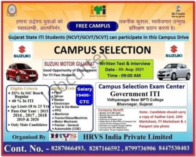 ITI Campus At Govt. ITI Vidhyanagar Bhavnagar