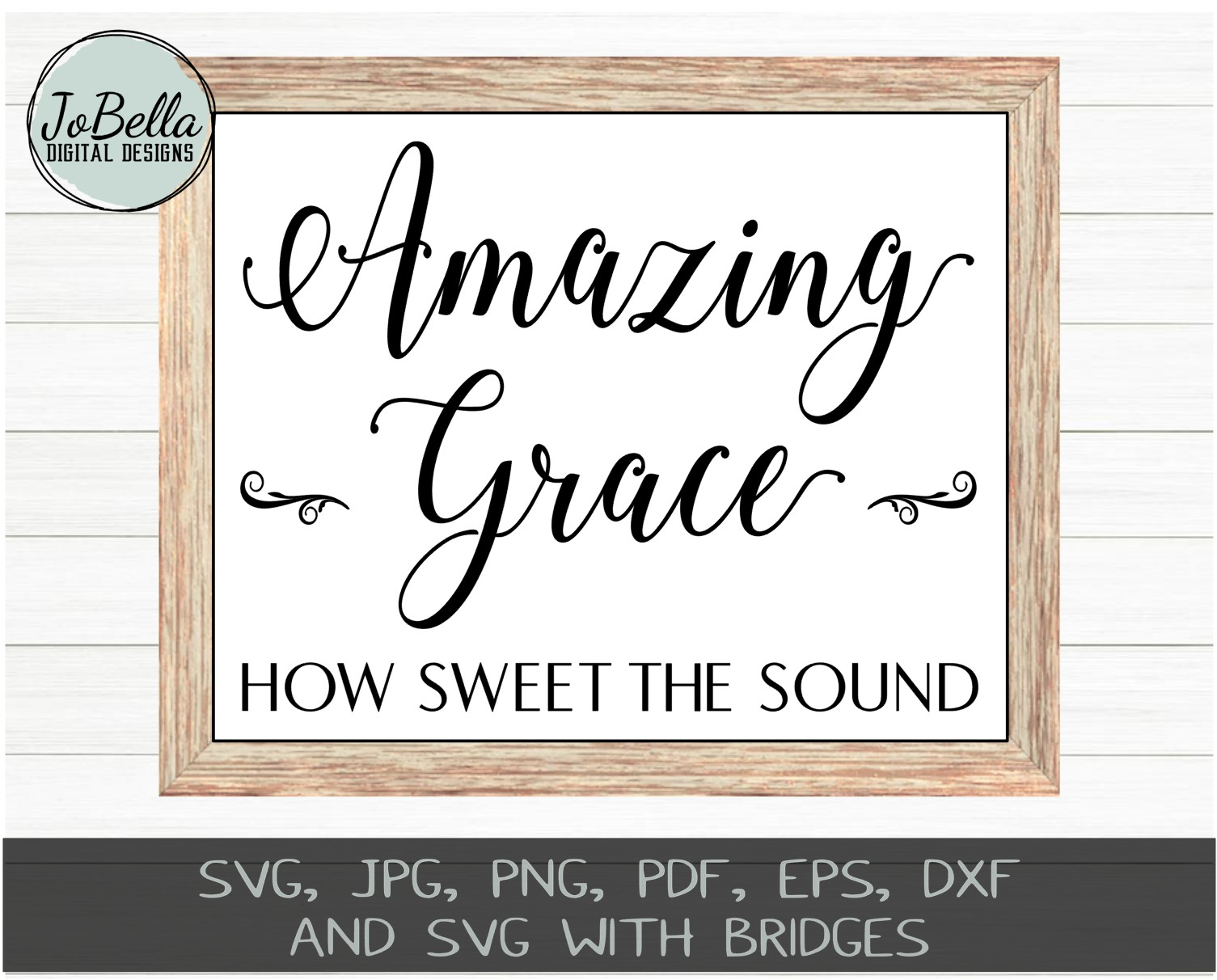 Amazing Grace Svg And Printable