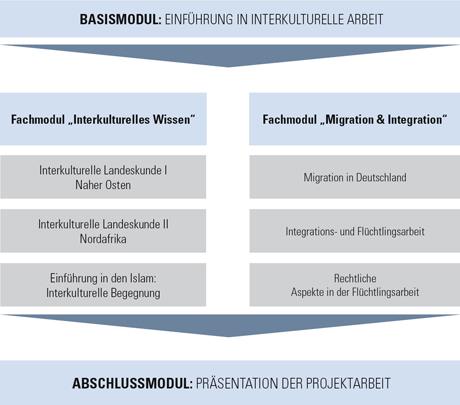 Grafik Basismodul: Einführung in interkulturelle Arbeit