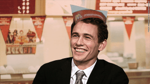 james franco loved working at Mcdonalds